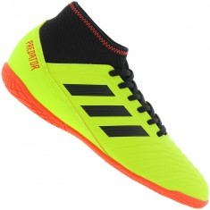 f424bd2e0d9c4 Tênis Adidas Infantil (Menino) Futsal Predator Tango 18.3