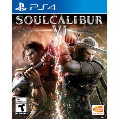 Jogo Soulcalibur VI PS4 Bandai Namco