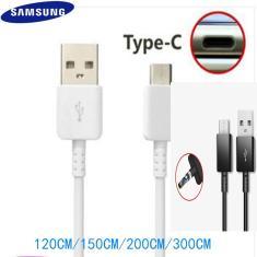 Original Samsung Cabo TIPO C 0.28/1.2/1.5M Linha De Dados Carregador Rápido Para samsung Galaxy S8