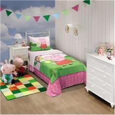 Imagem de Edredom infantil estampa Peppa Pig - Lepper