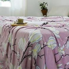 Imagem de Cobertor Casal Flannel Fleur  - Casa & Conforto