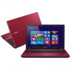 "Notebook Acer E5-571-51AF Intel Core i5 5200U 15,6"" 4GB HD 1 TB Windows 8 5ª Geração"