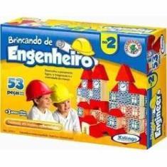 Imagem de Brincando De Engenheiro 2 C/53 Pcs - 5276.5 Xalingo