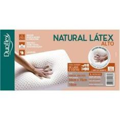 Imagem de Travesseiro Duoflex Natural Latex Alto 50X70x16