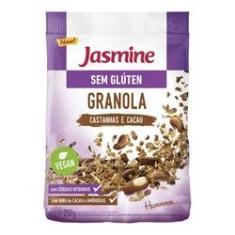 Granola Sem Glúten Castanha e Cacau Jasmine 250g