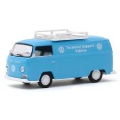 Imagem de Miniatura - 1:64 - 1971 Volkswagen Type 2 Kombi Panel Van - Club V-Dub - Greenlight