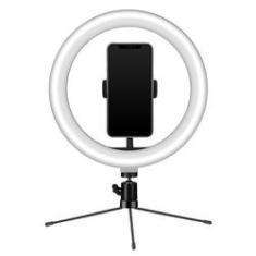 Imagem de Ring Light USB Tripe 18 cm Iluminador e Suporte Smartphone - MYMAX