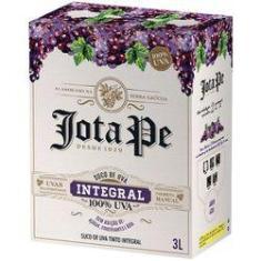 Suco De Uva Integral Tinto Jota Pe Casa Perini Bag In Box 3L