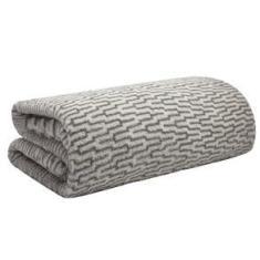 Imagem de Cobertor Manta Microfibra Solteiro 2,20 X 1,50 Estampado Camesa