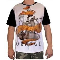 Imagem de Camisa Camiseta Masculina Clockwork Orang Laranja Mecanica 2