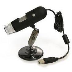 Microscopio Digital C/ Zoom 1000x Reais Câmera 2.0 Mega Pixels Usb 6 Leds Original Lupa Profissional