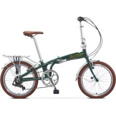 Bicicleta Durban Dobrável 7 Marchas Aro 20 Freio V-Brake Sampa Pro