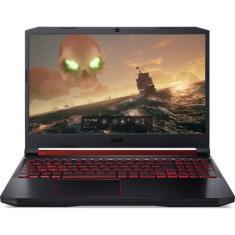 "Notebook Gamer Acer Aspire Nitro 5 AN515-54-76XC Intel Core i7 9750H 15,6"" 16GB HD 1 TB"