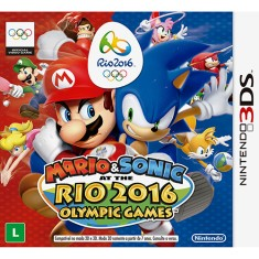Jogo Mario & Sonic at the Rio 2016 Olympic Games Nintendo 3DS