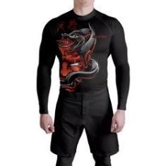 Imagem de Rash Guard Fitness Red Samurai Atlética