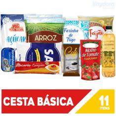 Imagem de Kit Promocional Alimentos Cesta Básica De Qualidade!!