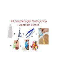 Imagem de Kit Coordenação Motora Fina Autismo Apoio De Escrita Auxílio
