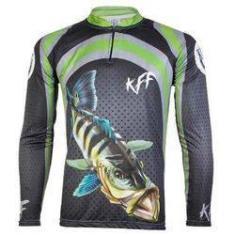 Imagem de Camiseta De Pesca King Proteção Solar Uv KFF10 - Tucunaré