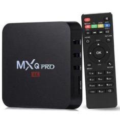 Imagem de Smart TV Box MXQ PRO 64GB 4K Android TV HDMI USB
