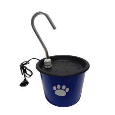 Imagem de Bebedouro Plástico Tipo Fonte Gatos Azul- Nêssa Pet Shop