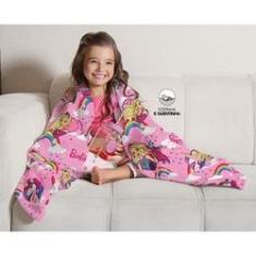 Imagem de Cobertor Manta Infantil Barbie Reinos Mágicos - Lepper