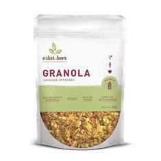Granola Salgada Integral Sem Glúten, Estar Bem