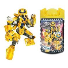 Imagem de Robo Guerreiro Yellow Armor 57 Pcs - Xalingo