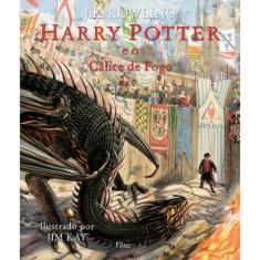 Harry Potter e o Cálice de Fogo - Edição Ilustrada - Rowling, J.K. - 9788532531544