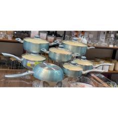 Imagem de Jogo de panelas Casa Ambiente super Genebra antiaderente cerâmica