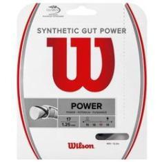 Imagem de Corda Wilson Synthetic Gut Power 17L 1.25mm  Set Individual