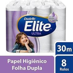 Imagem de Papel higienico folha dupla elite ultra 8 rolos de 30m