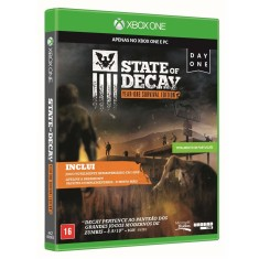Jogo State of Decay Year One Survival Edition Xbox One Undead Labs