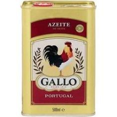 Azeite de Oliva Puro Lata 500ml - Gallo