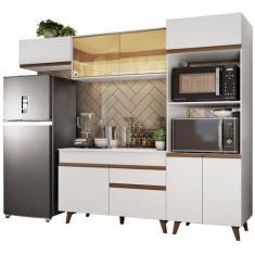Cozinha Completa 1 Gaveta 8 Portas Reims 260001 Madesa