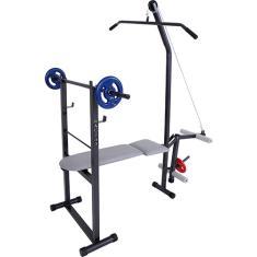 Academia de Musculação 10 Exercícios Dream Fitness AC 700