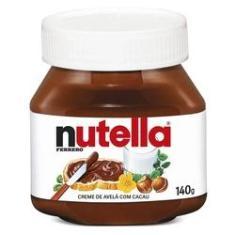 Creme Avelã Nutella Ferrero 140g