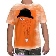 Imagem de Camiseta Camisa Masculina Orange Laranja Mecanica 10
