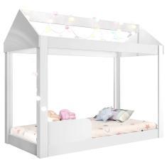 Imagem de Cama Infantil com Casinha sem Colchão Montessoriana Crystal J&A Móveis