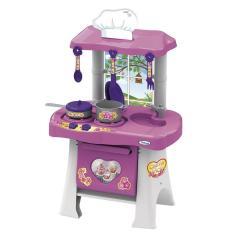 Imagem de Cozinha Infantil Casinha Flor Pop  E  Xalingo