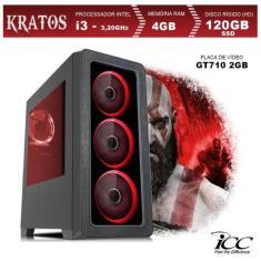 PC ICC KT2346S Intel Core i3 4 GB 120 Linux Gamer