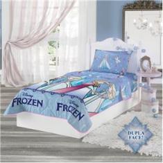 Imagem de Edredom Infantil Frozen Dupla Face