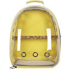Imagem de FitBest Mochila para transporte de gatos, bolsa de plástico bolha, bolsa para transporte de animais de estimação, aprovada por companhias aéreas, bolsa de transporte para cães pequenos, cápsula espacial para viagens, caminhadas ao ar livre,