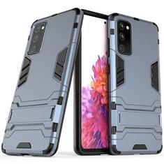Imagem de None/Brand Capa híbrida para Samsung Galaxy S20 FE, Galaxy S20 FE, à prova de choque, capa rígida híbrida de proteção de camada dupla com suporte para Samsung Galaxy S20 FE
