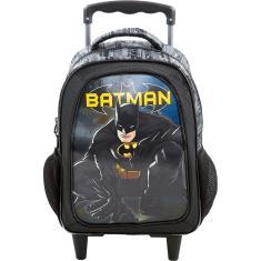 Imagem de Mochila com Rodinhas Escolar Xeryus Batman Dark Light 7580