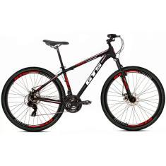 Bicicleta Mountain Bike GTS 24 Marchas Aro 29 Suspensão Dianteira Feel
