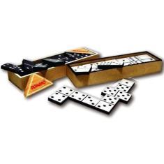 Imagem de Domino tradicional de madeira