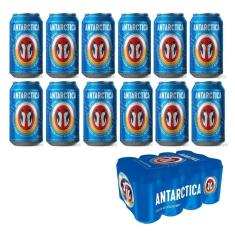 Imagem de Cerveja Antarctica Lata 350Ml Caixa Com 12 Unidades