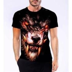 Imagem de Camiseta Camisa Lobisomem Licantropo Homem Lobo Terror