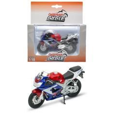Imagem de Moto Honda CBR 900RR Fireblade - California Cycle - 1/18 - Welly
