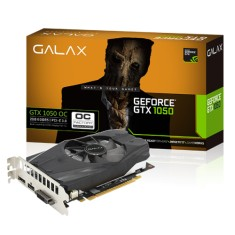 Placa de Video NVIDIA GeForce GTX 1050 2 GB GDDR5 128 Bits Galax 50NPH8DSN8OC